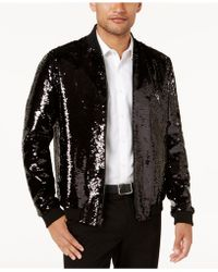 INC International Concepts - Sequin Bomber Jacket, Created For Macy's - Lyst