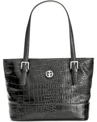 Giani Bernini - Croc-embossed Tote, Only At Macy's - Lyst