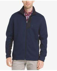 Izod   Men's Shaker Fleece Jacket   Lyst