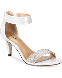 Style & Co. - Phillyis Two-piece Evening Sandals - Lyst