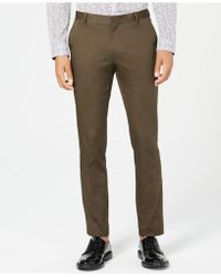 INC International Concepts - Ultra Slim Stretch Trousers, Created For Macy's - Lyst