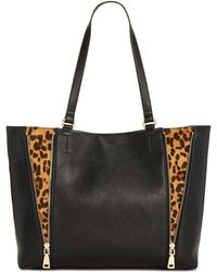 INC International Concepts - I.n.c. Averry Side Zip Leopard Tote, Created For Macy's - Lyst
