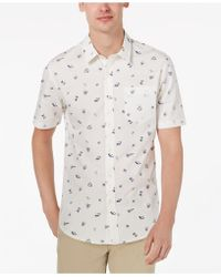 American Rag - Cryptic Ditzy Printed Shirt, Created For Macy's - Lyst