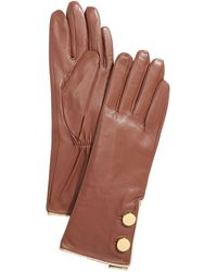 Kate Spade - Tipped Button Gloves - Lyst