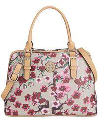 Giani Bernini - Cherry Blossom Saffiano Medium Dome Satchel - Lyst