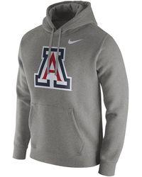 70697937 Lyst - Nike Men's Arizona Wildcats Stadium Dri-fit Touch Hoodie in ...
