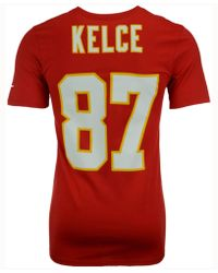 Nike - Men s Travis Kelce Kansas City Chiefs Pride Name And Number T-shirt - 182ee2221