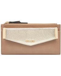 Nine West - Double Zip Wallet With Pouch - Lyst