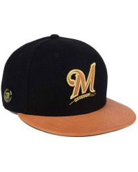 differently 7881c e61f8 Nike True Russell Wilson Swoosh Flex Qs Fitted Hat in Black for Men - Lyst