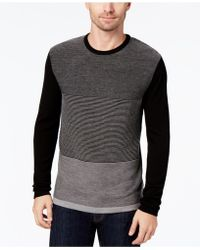 Daniel Hechter - Men's Colorblocked Textured-knit Merino Wool Sweater - Lyst