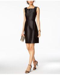 Ellen Tracy - Petite Square-neck Sheath Dress - Lyst