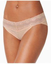 Natori - Bliss Perfection Lace-waist Bikini 756092 - Lyst