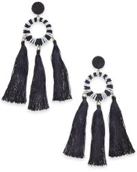 INC International Concepts - Trina Turk X I.n.c. Beaded Multi-tassel Drop Earrings, Created For Macy's - Lyst