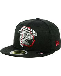 KTZ - Atlanta Falcons State Flag Reflective 59fifty Fitted Cap - Lyst