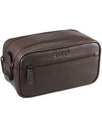 Dopp First Class Seasoned Traveler Soft Sided Multi-zip Travel Kit