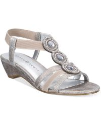 Karen Scott - Casha Wedge Sandals, Created For Macy's - Lyst