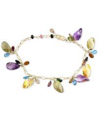 Effy Collection - Effy® Multi-gemstone Dangle Bracelet (33-1/4 Ct. T.w.) In 14k Gold - Lyst