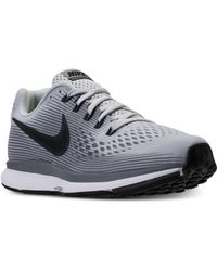 Nike   Men's Air Zoom Pegasus 34 Running Sneakers From Finish Line   Lyst
