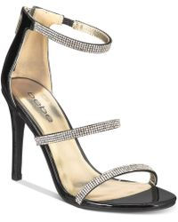 Bebe - Janae Dress Sandals - Lyst