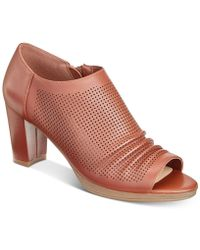 Bella Vita - Liza Peep-toe Shooties - Lyst
