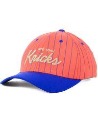 Mitchell & Ness - New York Knicks Pinstripe Snapback Cap - Lyst