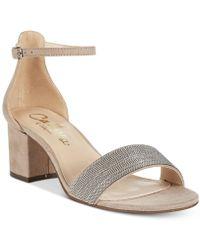 Callisto - Jazmine Block-heel Dress Sandals - Lyst