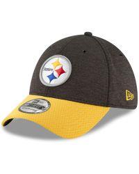 d0067569eca Lyst - KTZ Pittsburgh Steelers Nfl 2015 Training 39thirty Cap in ...