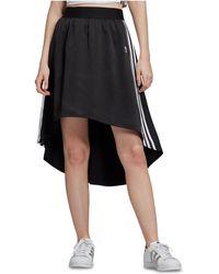 531a274b9fe446 adidas Originals Originals Embellished Arts Wrap Maxi Skirt in Gray ...