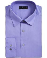 Lyst Alfani Slim Fit Performance Stretch Easy Care Dress Shirts