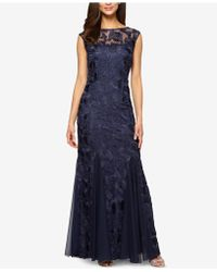 Alex Evenings - Tulle Mermaid Gown - Lyst