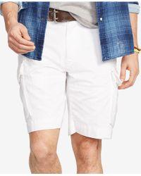 "Polo Ralph Lauren - Shorts, Core 10.5"" Classic Gellar Cargos - Lyst"