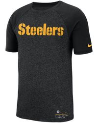 Nike - Raglan (nfl Steelers) Men's T-shirt - Lyst