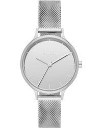 Skagen - Anita Stainless Steel Mesh Bracelet Watch 30mm Skw2410 - Lyst