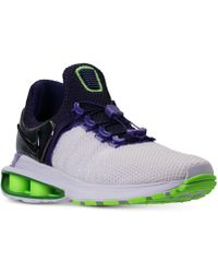 fc887947cba Nike - Shox Gravity Casual Sneakers From Finish Line - Lyst