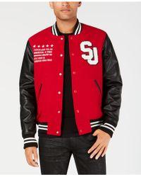 Sean John - Varsity Jacket - Lyst