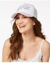 Betsey Johnson - Bride Cotton Baseball Cap - Lyst