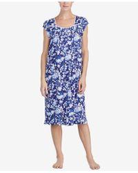 Eileen West - Waltz Crochet-lace Ruffled-hem Nightgown - Lyst
