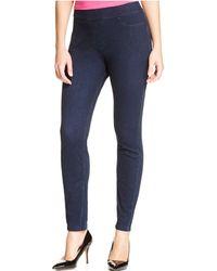 Hue - Curvy Fit Jeans Leggings - Lyst