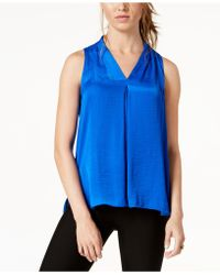 Vince Camuto - Inverted-pleat Top - Lyst