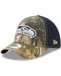 release date: f1c0c e98d0 KTZ Kansas City Chiefs Realtree Hunter Neo 39thirty Cap for Men - Lyst
