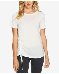 1.STATE - Cinched Asymmetrical-hem Top - Lyst