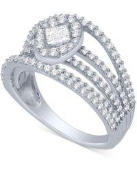 macyu0027s diamond multilayer statement ring 114 ct