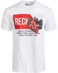 the best attitude 21680 4ceb0 Young   Reckless - Cornered Logo Graphic T-shirt - Lyst