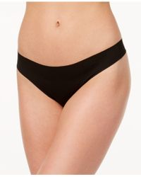 Wacoal - Beyond Naked Ribbed Clean-cut Thong 879259 - Lyst