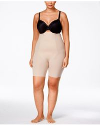 Spanx - Thinstincts Plus Size Firm Control High-waist Shorts 10006p - Lyst