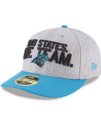 62070571a24 KTZ - Carolina Panthers Draft Low Profile 59fifty Fitted Cap - Lyst