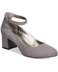 Bandolino - Odear Ankle-strap Block Heel Court Shoes - Lyst