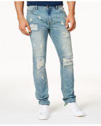 American Rag | Men's Vintage Wash Distressed Jeans | Lyst