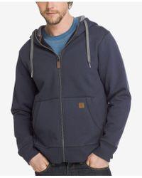 G.H. Bass & Co. | Men's Zip Fleece Hoodie | Lyst
