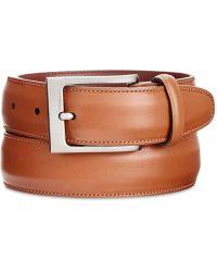 Perry Ellis - Full-grain Leather Belt - Lyst